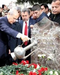 Alparslan Türkeş 16. ölüm yıldönümünde anıldı