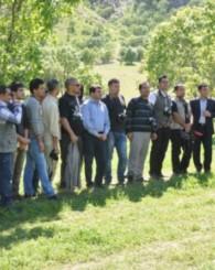 Kandil'de gazeteciler didik didik arandı