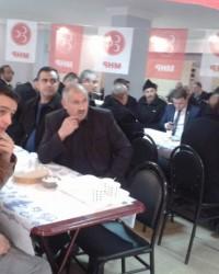 Ülkü Şamlıoğlu'ndan Miting Gibi Kahvaltı