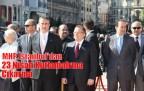 MHP İstanbul 23 Nisan Kutlamalarına Taksime Çıkarm