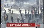 Ankara'da KESK eylemi