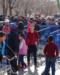 RDOĞAN'IN MİTİNGİNDE ''ZORAKİ İŞÇİ KRİZİ''