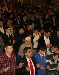 İstanbul Ülkü Ocakları Başbuğ İçin Süleymaniye'de