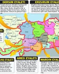Türkiyenin Bölünme Haritası