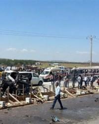 Suriye sınırında patlama: En az 17 ölü