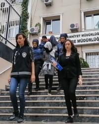 İstanbul'da fuhuş operasyonunda Mobil Türkan yakay
