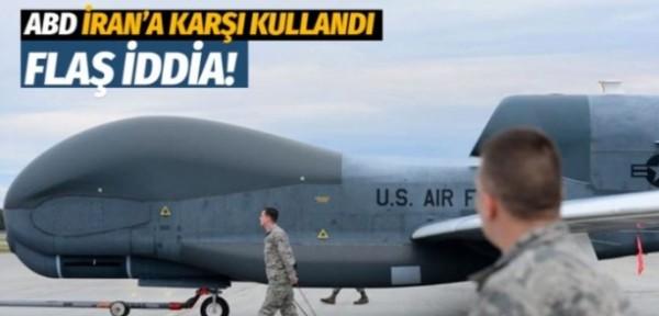 ABD yeni savunma sistemiyle İran'a ait İHA'yı düşürdü