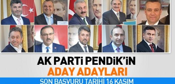 AK Parti Pendik'te Kaç aday adayı var? İşte AK Parti'nin Pendik Belediye Başkan aday adayları