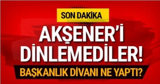 Akşener 'yokum' dedi İYİ Parti anında cevap verdi...