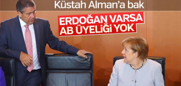 Almanya'da Avrupa Birliği için Erdoğan şartı