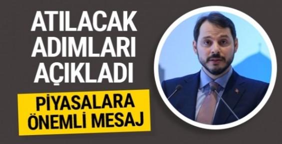 Bakan Albayrak'tan çok önemli ekonomi mesajları!