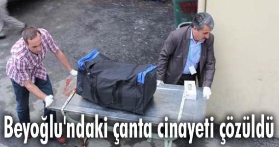 Beyoğlu'ndaki çanta cinayeti çözüldü