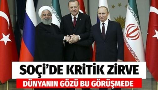 Erdoğan Rusya'da Soçi Zirvesi'nde ne kararlar alındı