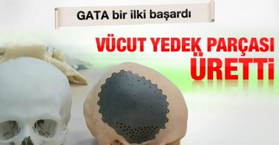 GATA'da vücut yedek parçası üretimi yapılıyor