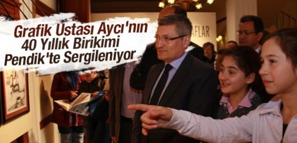 Hasan Aycan'ın 'Portreler ve İthaflar' Sergisi Pendik'te Açıldı