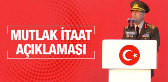 Hulusi Akar'dan flaş Fırat Kalkanı açıklaması