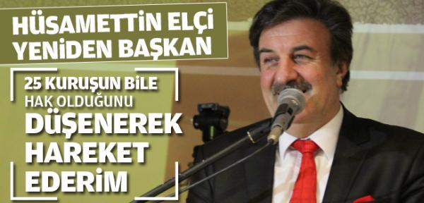 Hüsamettin Elçi Yeniden Başkan!Kaynak: Hüsamettin Elçi Yeniden Başkan!