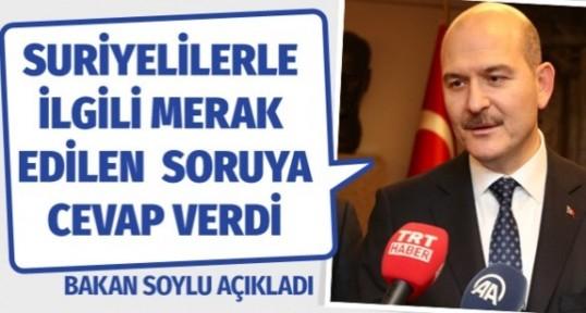 İçişleri Bakanı Süleyman Soylu'dan seçim açıklaması kaç Suriyeli oy verecek?