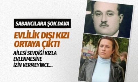 İhsan Sabancı'nın evlilik dışı doğan kızı Sevilay Sabancı Çınar'a 13 milyon tazminat