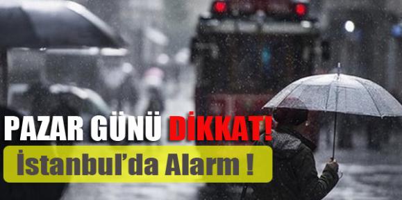 İstanbul'da Alarm !