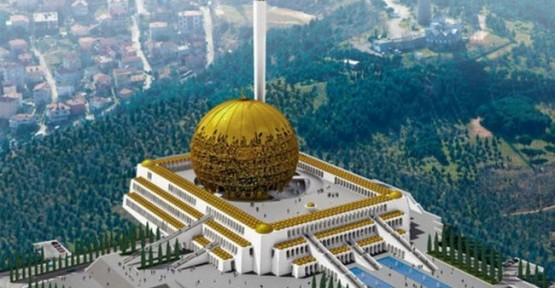Kabul edilmeyen Çamlıca Camii projesi dünya birincisi oldu!
