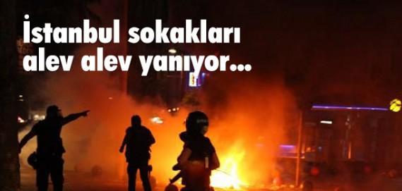 KADIKÖY'DE POLİS MÜDAHALESİ