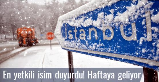 Kar İstanbul'a geliyor son hava durumu(10.12.2016) tahmini