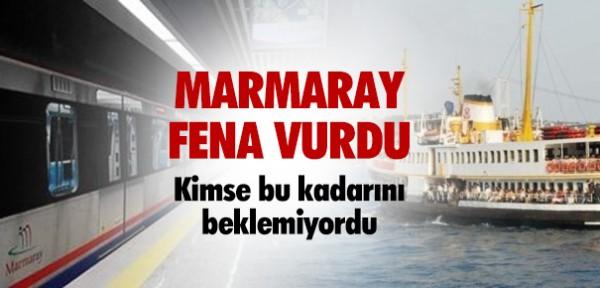 MARMARAY FENA VURDU !