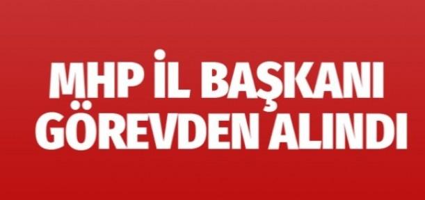 MHP Manisa İl Başkanı görevden alındı teşkilat kapatıldı
