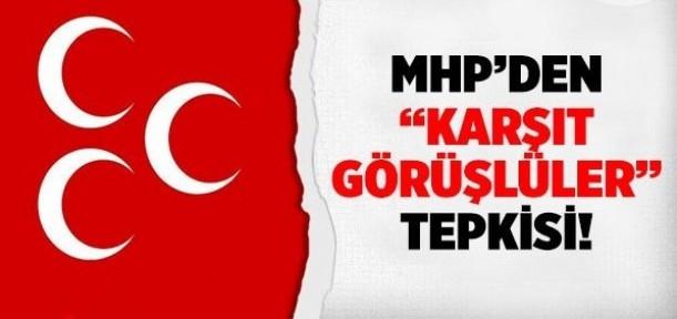 MHP'den 'karşıt görüşlüler' tepkisi!