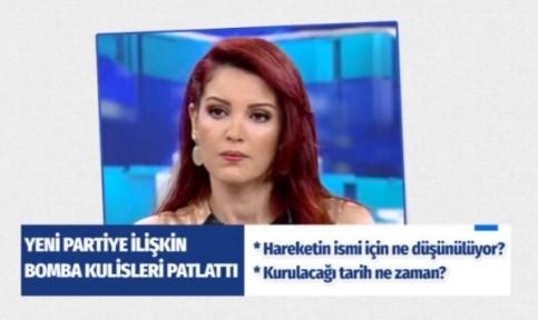 Nagehan Alçı yeni partiye ilişkin kulis bilgiler..