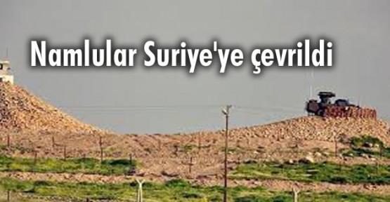 Namlular Suriye'ye çevrildi
