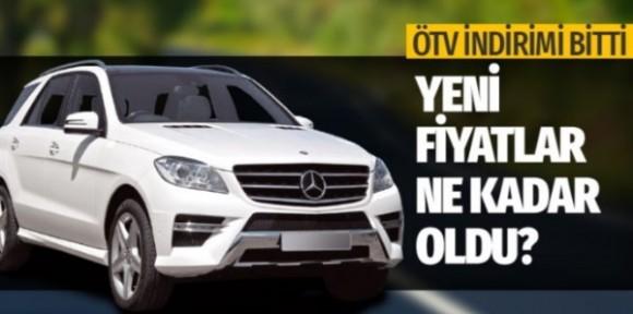 ÖTV indiriminin ardından otomobil fiyatları uçtu! Bu rakamlar cep yakacak