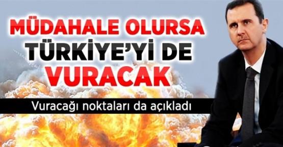 Suriye, Müdahale Olursa Türkiye'yi de Vuracak