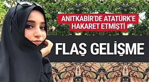 Atatürk'e hakaret eden Safiye İnci gözaltına alındı
