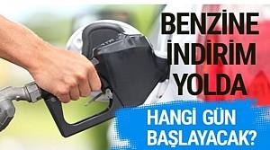 Benzine indirim yolda Pompa fiyatlarına yansıyacak