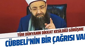 Cübbeli Ahmet Hoca'dan tarihi Erdoğan Trump görüşmesiyle ilgili dikkat çeken çağrı!