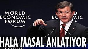 Davutoğlu, Dünya Ekonomik Forumu'nda konuştu