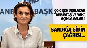 """Kaftancıoğlu'ndan """"Demirtaş"""" ve """"YSK"""" ile ilgili bomba açıklamalar!"""