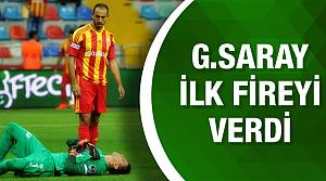 Kayserispor Galatasaray maçının geniş özeti ve golleri