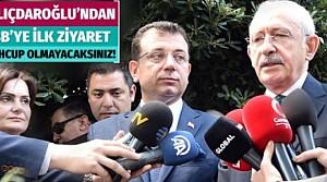 Kemal Kılıçdaroğlu'ndan Ekrem İmamoğlu'na ilk ziyaret