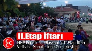 MHP Pendik Sokak İftarları İle Vatandaşla Buluşuyor
