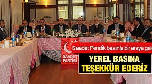Pendik Saadet Partisi İlçe Yönetimi Basınla Buluştu