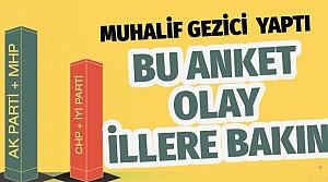 Son yerel seçim anketi Gezici'den geldi! İstanbul, Ankara, Adana, Bursa.