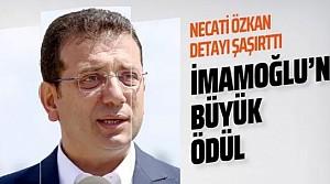 Uluslararası Demokrasi Madalyası'nın sahibi Ekrem İmamoğlu oldu!