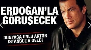 Ünlü aktör İstanbul'a geldi! Başkan Erdoğan'la görüşecek