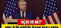 ABD'den YPG açıklaması PKK'nın kolu görmek isteyen için açık