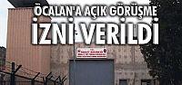AK Parti Hükümeti Öcalan'a açık görüşme izni verdi