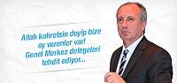 CHP'li İnce'den kongre için gözdağı!