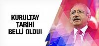 CHP'nin Kurultay tarihi belli oldu!